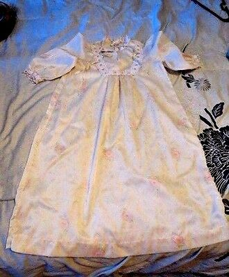 Vintage Toddler Girl Christian Dior  Nightgown Size 3T Portrait