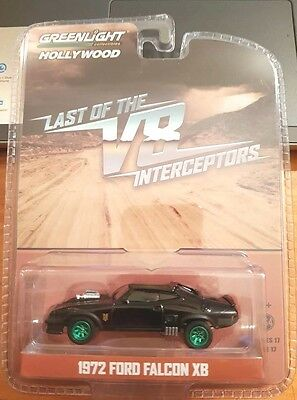 V8 Interceptor MAD MAX 1:64 Scale FORD FALCON GT XB CHASE Last of the V8s