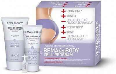 Anticellulite Cell program Body kit completo Bema Cosmetici - (rls-b1432)