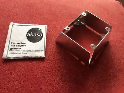 Akasa Fan Adapter 60mm To 80mm