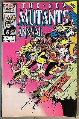 # The New Mutants Annual #2 1st Appearance of Psylocke First Printing 1986 X-Men