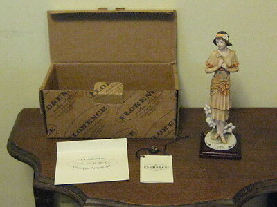 Giuseppe Armani Florence Italy Figurine 1998 Bluebell, 1244C In Box With Tag
