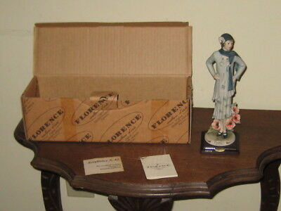 Giuseppe Armani Florence Italy Figurine 1998 Poppy, 1246C, In Box With Tag