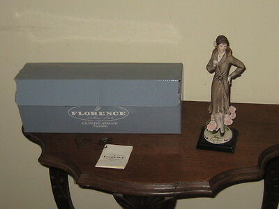 Giuseppe Armani Florence Italy Figurine 1998 Carnation, 1247C In Box With Tag