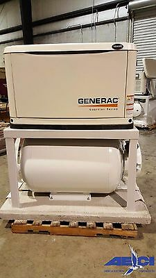 Generac GUARDIAN SERIES 10kW Air-Cooled  LP/NG Gas Commercial Standby Generator