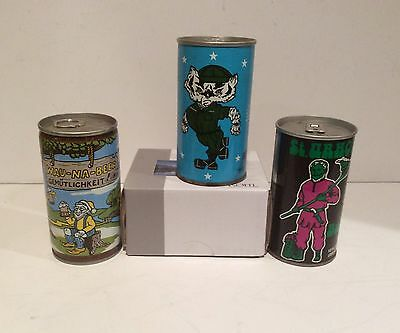 Vintage Rare Beer Cans 3 Cans