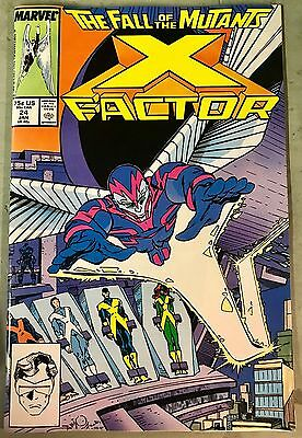 X-FACTOR #24 MARVEL COMICS 1988 FIRST 1st Full Archangel Appearance Apocalypse