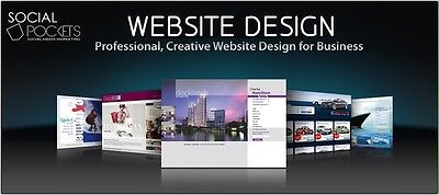 *****custom Website Design***** Domain Name + Hosting Setup!!