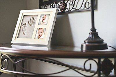 Baby Hand Footprint Clay Mold Picture Frame Baby Handprint Frame Memorable Keeps