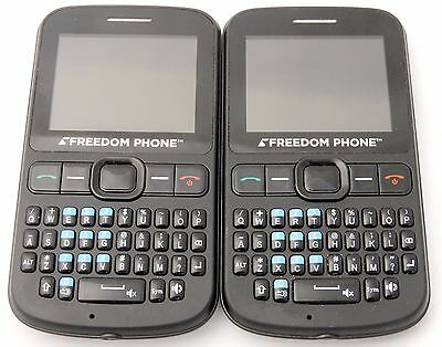 Freedom Phones Set of 2 As Shown - Phones Only - AS IS - Parts or Repair