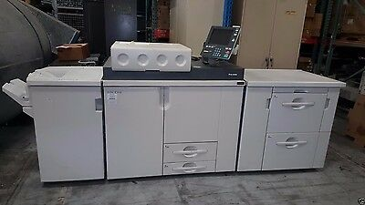 RICOH C900 COLOR PRODUCTION PRINTER WITH LCT RT5000 AND SR5000 and C-80 Control