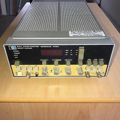 HP 8111A Pulse/Function Generator 20MHz