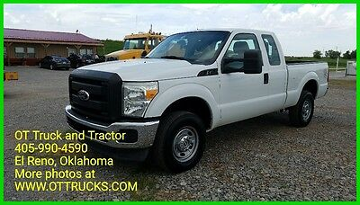 2011 Ford F-250 XL 2011 Ford F-250 4wd Extended / Super Cab Supercab Short Bed F250 6.2L Gas