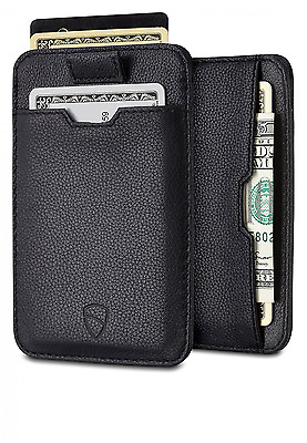 Chelsea Slim Card Sleeve Wallet with RFID Protection by Vaultskin – Top Quality