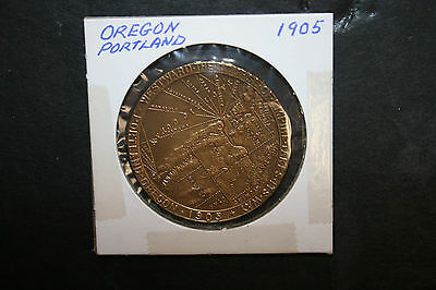Vintage 1905 Lewis and Clark Centennial Expo Official Souviner Token