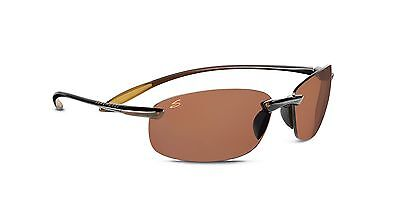 Serengeti Nuvino Polar Sunglasses,Shiny Brown with Drivers Lenses 7316