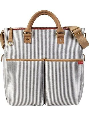 Skip Hop duo limited edition changing bag in french stripe