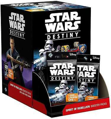 Star Wars Destiny Spirit of Rebellion Sealed Booster Box