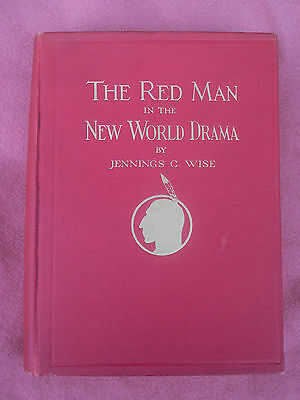 American Indian RED MAN In The NEW WORLD DRAMA First Edition SIGNED Plates