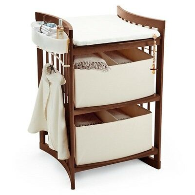 STOKKE Changing Table Station In Walnut