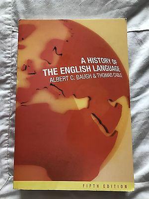 BRAND NEW - A History of the English Language – 5th edition
