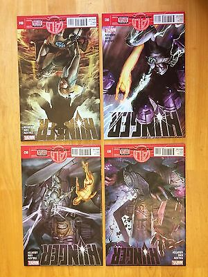HUNGER #1-4 NM+ 9.6 complete run set lot of 4 Marvel 2013 Age of Ultron Galactus