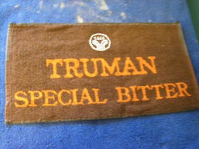Truman Special Bitter Beer Bar Towel Golf Hand Vintage Cotton Collectible