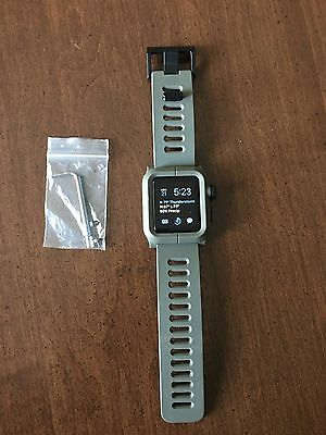 Lunatik Epic Apple Watch Rugged Band And Case 42mm Series 1 Gray