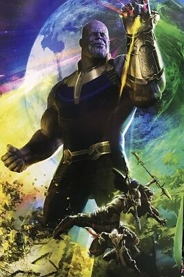 SDCC COMIC CON 2017 Marvel THANOS Avengers Infinity War Movie Exclusive POSTER