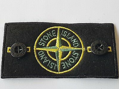 Genuine stone island badge and buttons