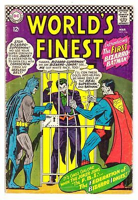 World's Finest Comics #156 VG- (3.5) DC Comic 1966