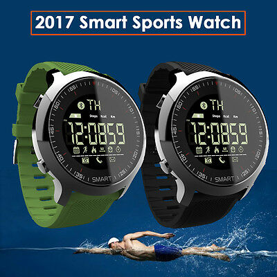 Fitness Tracker Waterproof Bluetooth Smart Watch Sport Pedometer for Android iOS