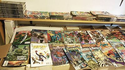 Mixed LOT OF 100 ALL Marvel DC Ind 100 Comic Book Lot all comics 1980 to 2017 hi