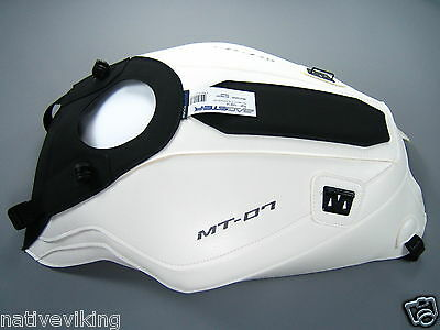 Bagster TANK COVER Yamaha MT-07 2014 white BAGLUX protector IN STOCK mt07 1681A