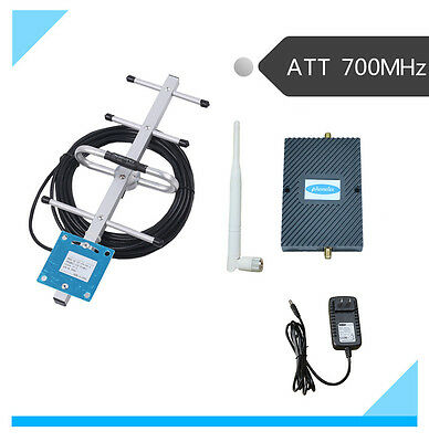 Cell Phone Signal Booster 4G LTE ATT 700MHz Mobile Repeater Amplifier for Office