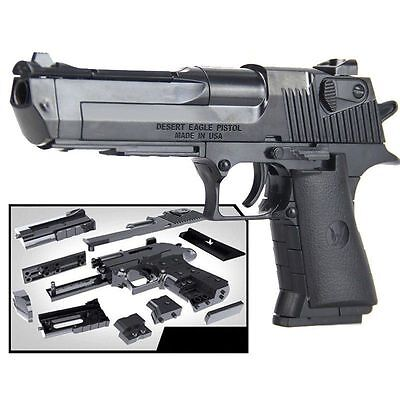 1:10 kids children toys building blocks gun model assembling pistol Desert Eagle