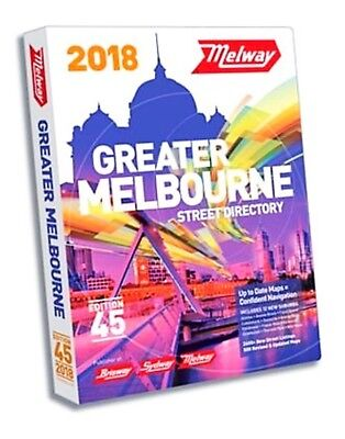MELWAY 2018 - Edition 45
