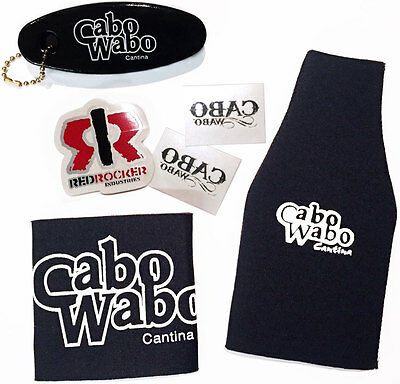 Cabo Wabo Accessories Pack - Sammy Hagar, New, Official, Red Rocker