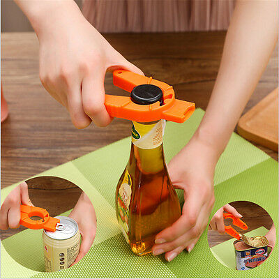 Newest 5 in1 Multi-Function Bottle Can Jar Wine Opener Kitchen Cooking Tools 97k