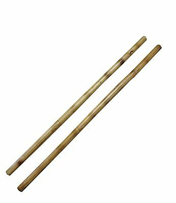 Kali Sticks - Plain Rattan Martial Arts Escrima Arnis Wood Fighting Sticks