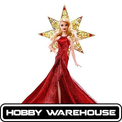 Barbie 2017 Holiday Doll - Red Gown
