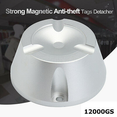 5000/12000GS Magnetic Tags Remover Detacher Tool For EAS Security System 8.2MHz