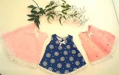 Premature baby NICU ruffle jumper dress premmie tiny newborn baby