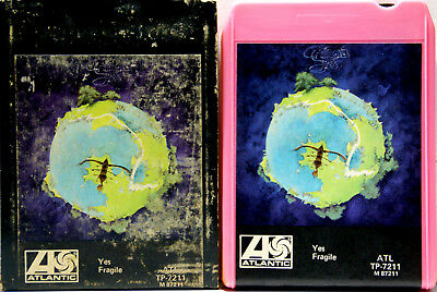 YES Fragile   8 TRACK TAPE  CARTRIDGE