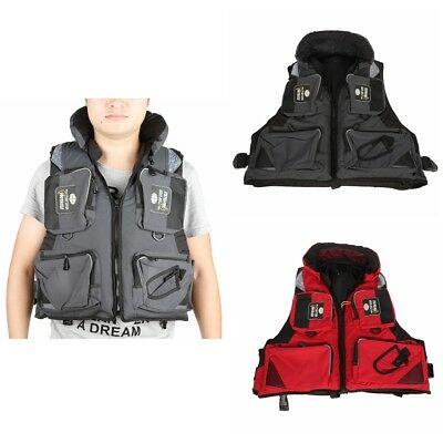 Outdoor Sport Safety Life Jacket Vest Swimsuit for Sea Fishing Drifting Survival