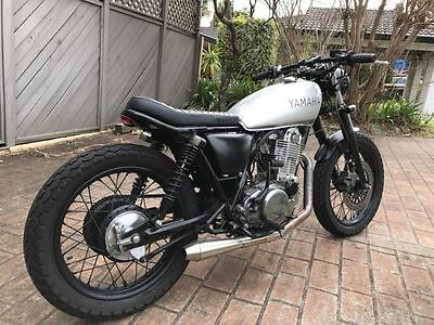 Yamaha SR400 Cafe Racer 2003 25th Anniversary Special Edition