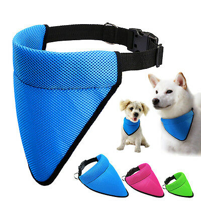 Soft Mesh Dog Collars Bandanas Pet Puppy Neckerchief Scarf for Small Large Dogs