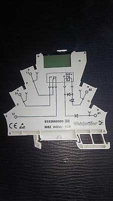 Weidmuller MRZ 24v dc relay unit (complete with relay)