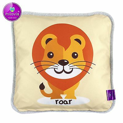 "Milovia Milopiq® - Kids Kissen ""Happy Lion"" - 40x40cm - hypoallergen"