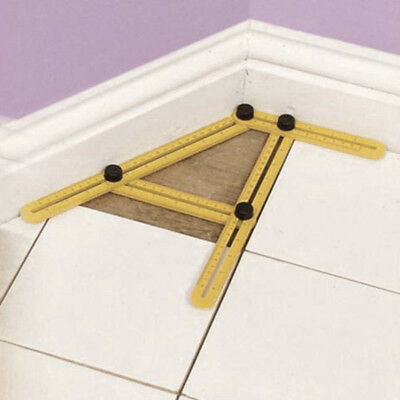 Multi-Angle Ruler Tool Measures Easy to Use All Angle for Craft Builder Worker